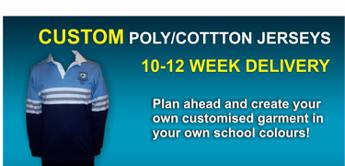 Customised Poly Jerseys