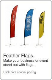 Promotional Feather Flags