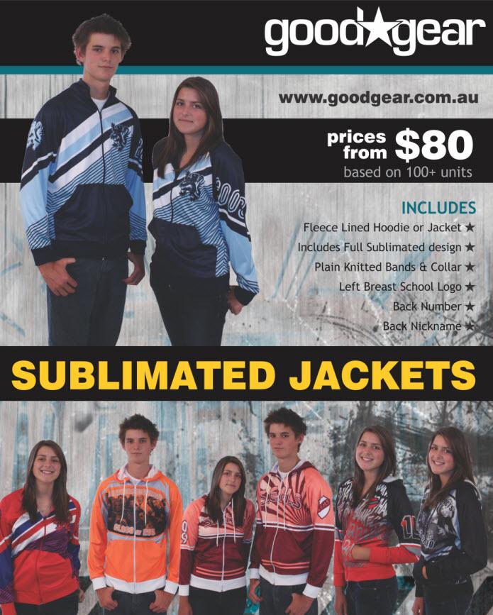 Year 12 Sublimated Jackets
