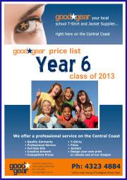 Year 6 Brochure